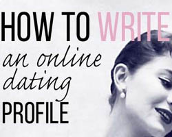 Tips for a good online dating profile